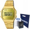 Zegarek damski CASIO A168WEGM -9EF złoty, hologram