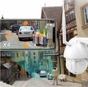 Kamera obrotowa IP WIFI zewnętrzna FULL HD 4X ZOOM Szerokość produktu 10.8 cm