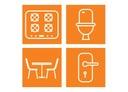 AJAX SUPER zestaw do czyszczenia domu spray 4 szt Liczba sztuk w zestawie 4 szt.
