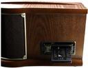 GRAMOFON RETRO RADIO DAB+ FM CD MP3 USB KASETA Prędkość obrotowa (obr./min) 33 1/3 45 78