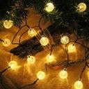 Lampki Solarne Ogrodowe Żarówka Lampa 100 LED 12 M EAN 0757249203050