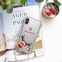 Świąteczne Etui Samsung Galaxy A50 Mikołaj Prezent Kolor wielokolorowy