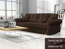Kanapa LION Skandynawska Sofa Rozkładana Wersalka Powierzchnia spania - szerokość (cm) 131-140 cm