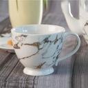 VILLA ITALIA MARMO Serwis do kawy herbaty na 6os Zawartość zestawu Filiżanka Spodek pod filiżankę