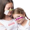 Maseczka dziecięca mini przyłbica na nos i usta Szerokość 22 cm