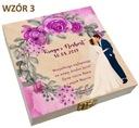 Pudełko na pieniądze banknoty prezent ślub wesele Kolor dominujący wielokolorowy
