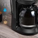 Ekspres do kawy przelewowy DUŻY XL FIRST AUSTRIA Materiał metal tworzywo sztuczne szkło