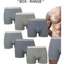 6x BOKSERKI MĘSKIE BAWEŁNIANE BAMBUSOWE majtki #XL Marka inna