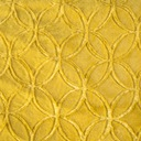 Двусторонний современный одеяло 220x240 горчичный