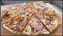 NATURALNY Kamień do pizzy 37x33 2w1 + ŁOPATKA Marka GRANITEX