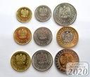Komplet monet obiegowych 2020 r. UNC 9 sztuk