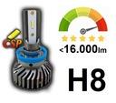 Najlepsze LED H8 CSP 16.000Lm Bardzo Mocne CANBUS