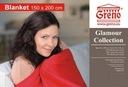 Koc Glamour Bawełna Dolores popiel 150x200 Greno Marka Greno