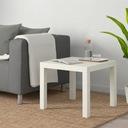 IKEA stolik LACK biały 55x55cm kawowy do salonu Głębokość mebla 55 cm