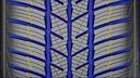4 x 205/55R16 91T Polaris 5 BARUM ZIMA Hałas zewnętrzny 72 dB