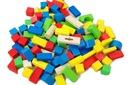 Zabawki dla dzieci Kolorowe klocki 100szt + sorter Bohater brak