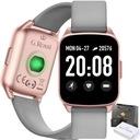 SMARTWATCH zegarek G.ROSSI SMS KROKI FB PULS Materiał paska tworzywo sztuczne