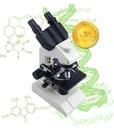 Mikroskop OPTICON - SkillMaster 1000x + akcesoria Waga (z opakowaniem) 3 kg
