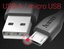 Hama KABEL MICRO USB / 1,4m / do ładowania Kod producenta 173610