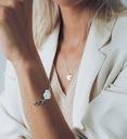 srebrna bransoletka prezent dla Niej +TWÓJ GRAWER Kamień Cyrkonia
