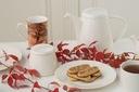 VILLA ITALIA NEW YORK Serwis do kawy na 12os Kształt Okrągły