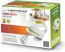 Mikser ręczny Esperanza Apple Pie 400 W biały Kod producenta EKM011