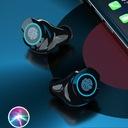 SŁUCHAWKI BEZPRZEWODOWE WODOODPORNE Bluetooth V5.1 Czas pracy 4 h