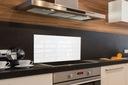 panel do kuchni szklany Płytki ściana 100x50 szkło Długość 100 cm