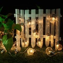Girlandy Lampki Ogrodowe Solarne LED 10szt Żarówki Kod produktu M000700