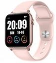SMARTWATCH TERMOMETR Opaska Zdrowia Watchmark Kolor różowy