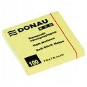 Karteczki Donau 76x76mm (1x100) eco żółte EAN 5901498053644