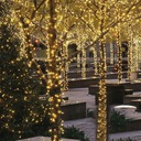 Lampki BIAŁE CIEPŁE 100 LED ŚWIĘTA ŚWIĄTECZNE Liczba lampek 51 - 100
