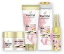 Pantene Rosewater szampon+odżywka + maska+olejek