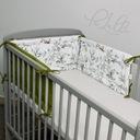 Ochraniacz do łóżeczka 180x30 na szczebelki 120x60 Bohater inny