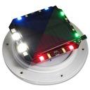 LAMPA KULA OGRODOWA LED SOLARNA RGB 30cm PILOT Zasilanie sieciowe solarne