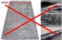 MIĘKKI DYWAN SHAGGY 5cm 80x150 9 KOLORÓW + GRATIS Kształt Prostokąt