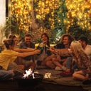 Girlandy Lampki Ogrodowe Solarne LED 100 szt 10m Rodzaj lampa wisząca