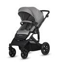 Wózek dzieciecy Kinderkraft PRIME LITE 3w1 Rodzaj kół Piankowe