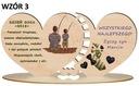 Prezent na Dzień OJca upominek dla TATY wzory Informacje dodatkowe z nadrukiem