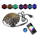 TAŚMA TV LAMPA LED RGB USB LEDY ZAROWKA 4M ZAROWKI Barwa światła wielokolorowy