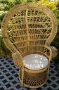 Fotel Rattan PAW plecione Fotele NOWY solidny HIT