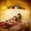 Girlandy Lampki Ogrodowe Solarne LED 200 szt 20m Liczba punktów światła Ponad 50