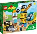 LEGO DUPLO Rozbiórka kulą wyburzeniową 10932