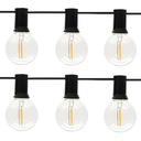 Girlandy Lampki Solarna żarówką Ogrodowa 10 LED Barwa światła ciepła biała