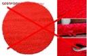 DYWAN SHAGGY 5cm PLUSZOWY koło 100 MIĘKKI KOLORY Materiał wykonania polipropylen