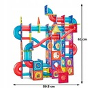 KLOCKI MAGNETYCZNE KONSTRUKCYJNE TOR KULKOWY 199 Marka Magnetic