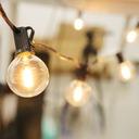 Girlandy Lampki Solarna żarówką Ogrodowa 10 LED Odległość między żarówkami 45 cm