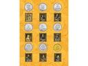 АЛЬБОМ НА Монеты ЦИРКУЛЯЦИОННЫЕ СЧЕТ ПОЛЬСКИХ КОРОЛЕЙ