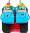 PSI PATROL POJAZD 2w1 MOTOCYKLE + 2 FIGURKI TWINS Płeć Chłopcy Dziewczynki