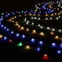 Girlandy Lampki Cherry Ogrodowe Solarne 50 LED 7m Waga (z opakowaniem) 0.3 kg